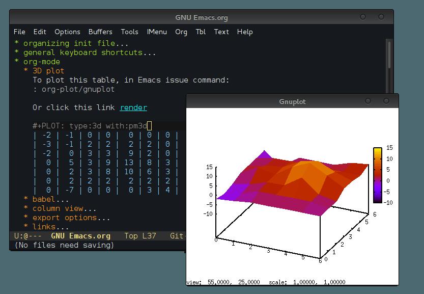 GNU Emacs intro